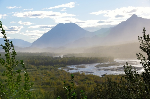 Alaska jour 4 - Matanuska Glacier