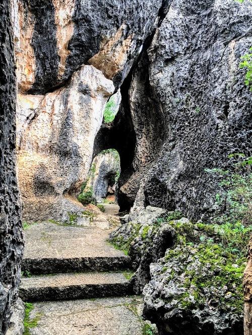la forêt de pierres de Naigu; suite de la visite