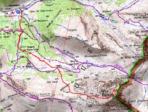 Tête de Pelvas (2929 m)