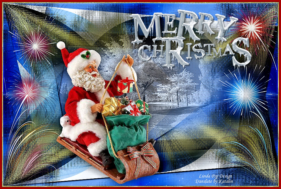 Linda Psp Design ~ Merry Christmas