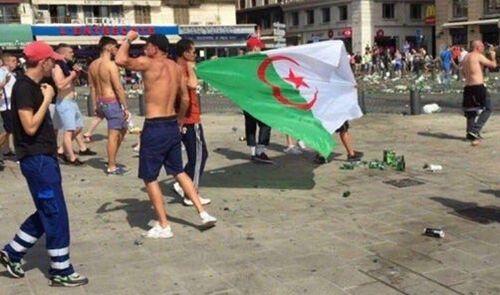 Ma France livré aux footeux saccageurs ..