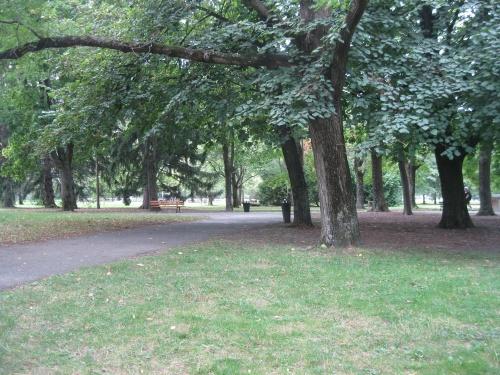 Septembre 2012 : paysages de fin d'été au parc Bachelard