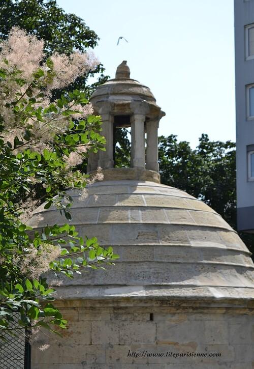 Paris 19ème - Place des Fêtes : Le Regard de la Lanterne