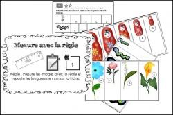 M3: Utiliser la règle graduée pour tracer des segments, comparer des longueurs.