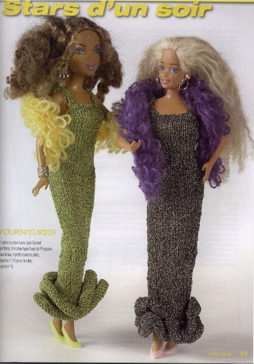 Barbie tricot : Stella