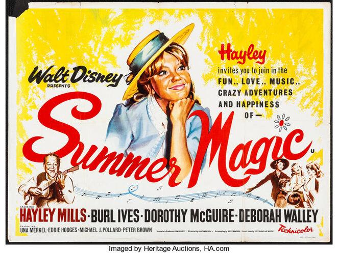 summer magic box office usa 1963