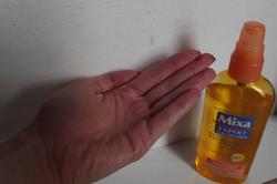 l'huile démaquillante de chez mixa
