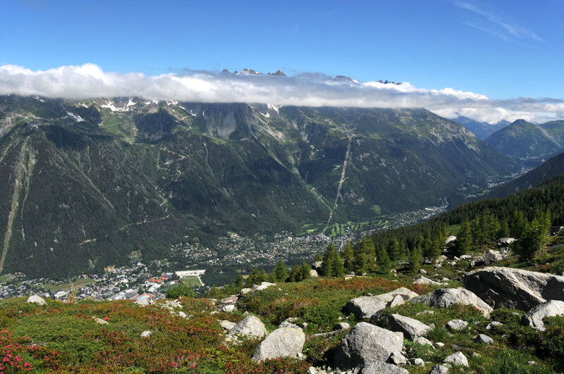 Le Grand Balcon nord de Chamonix (4)