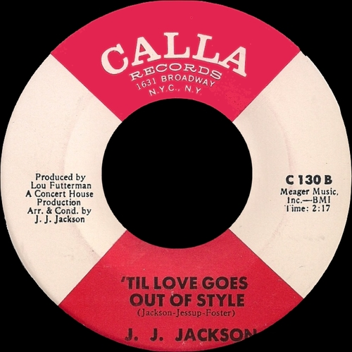 "J.J. Jackson : Album "" The Great J.J. Jackson "" Warner Bros. - Seven Arts Records WS 1797 [ US ]"