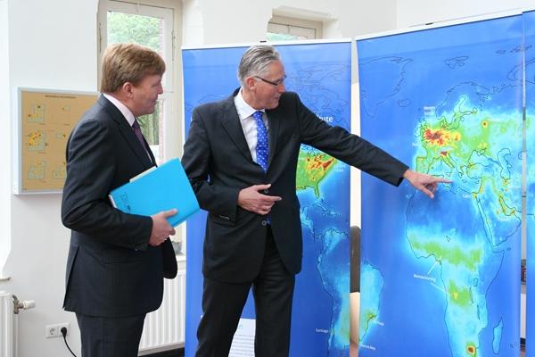 Willem Alexander et la météo