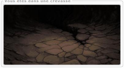 Une crevasse