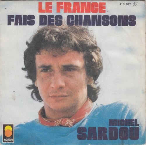 SARDOU, Michel - Le France   (Chansons françaises)