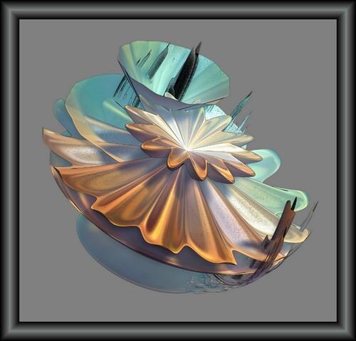 Chalice of mountain . création sur logiciel Incendia
