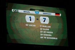 7-1 : l'Allemagne fait voler en éclats le rêve brésilien
