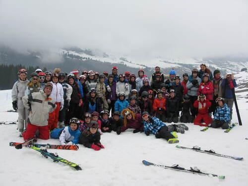 Classe de neige au Grand Bornand