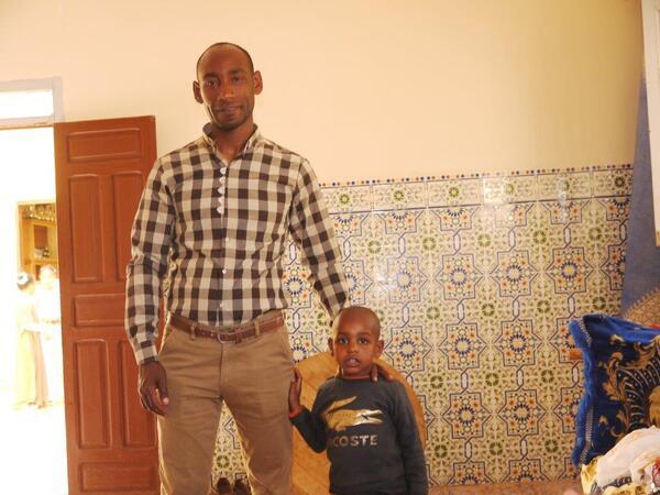 Ahmad et son fils