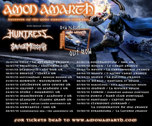 AMON AMARTH_European Tour 2015