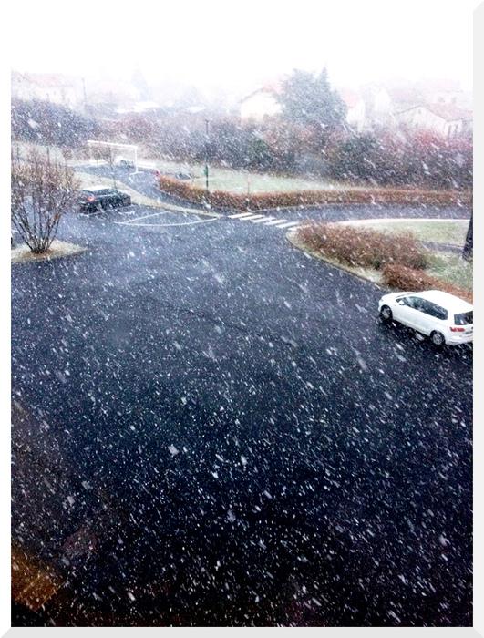 Quelques journées de neige en Auvergne.