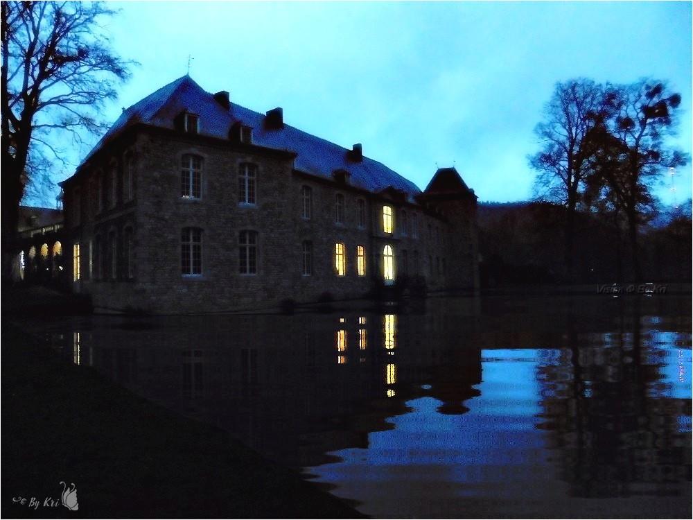 Annevoie (Be) ~ Le Château en Lumières ...