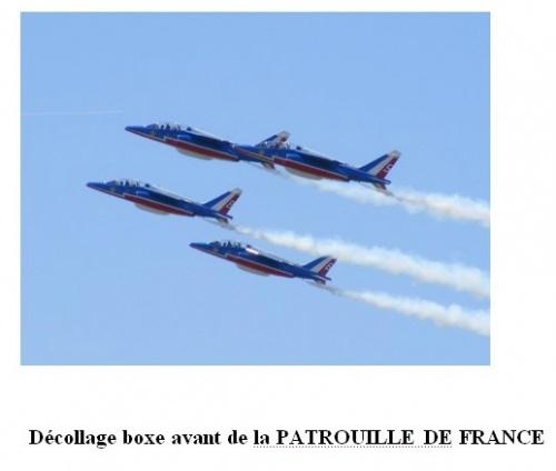 Nicole Prévost au salon aéronautique du Bourget...