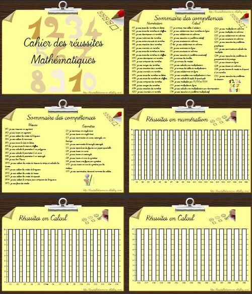 Classeur des réussites Maths tout terrain version 2013