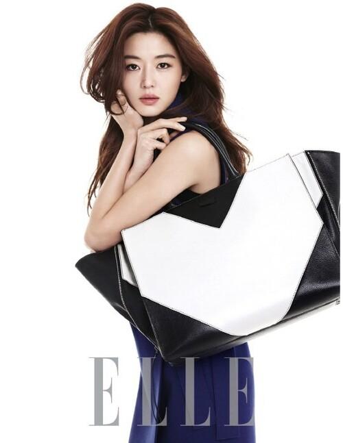 Jun Ji Hyun pour Elle