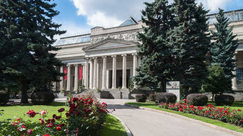 MOSCOU - LE MUSEE POUCHKIN
