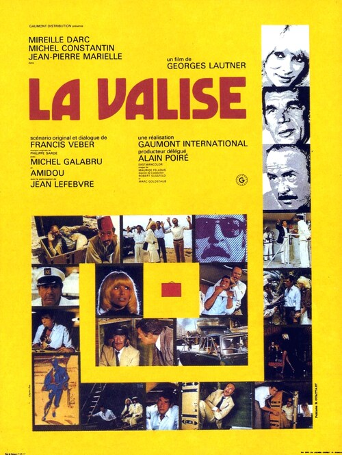LA VALISE - BOX OFFICE MIREILLE DARC 1973