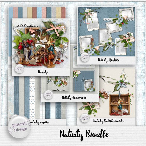 Nativity Bundle by butterflyDsign