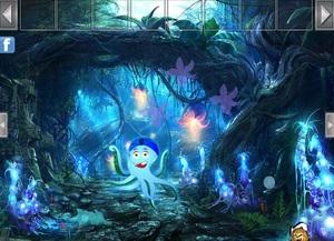 Jouer à Crystal forest escape