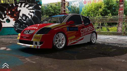 Team Citröen Hansen Motorsport Eric Faren