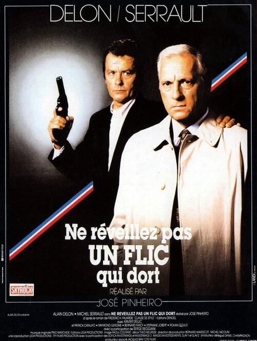 NE REVEILLEZ PAS UN FLIC QUI DORT - ALAIN DELON BOX OFFICE 1988