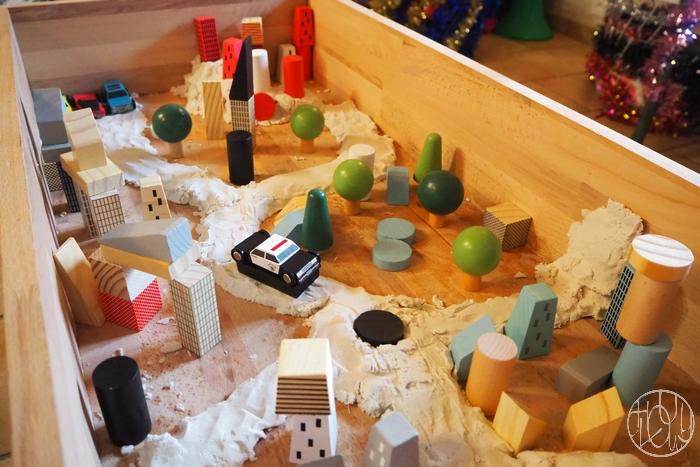 Notre table d'exploration sensorielle