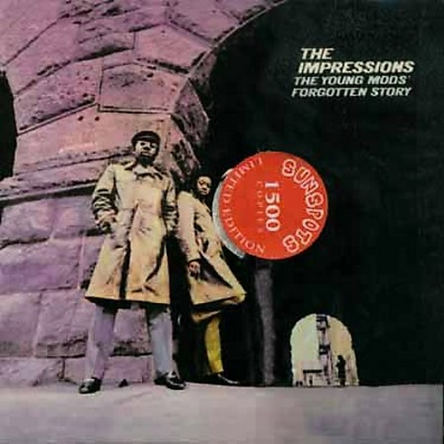 """2003 : Album CD """" The Young Mod's Forgotten Story """" Sunspots Records SPOT 518 [ US ]"""