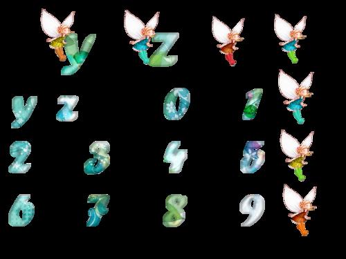 alphabet fée