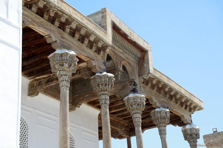 Citadelle Ark, Boukhara, la mosquée