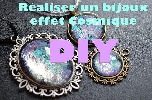 DIY - Tuto Bijoux Cosmique