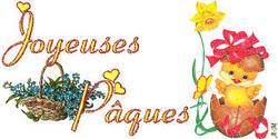 Joyeuses Pâques fleuries