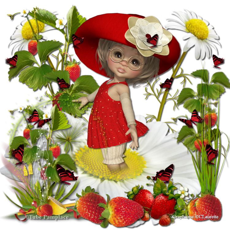 Que j'aime les fraises de MarieClo
