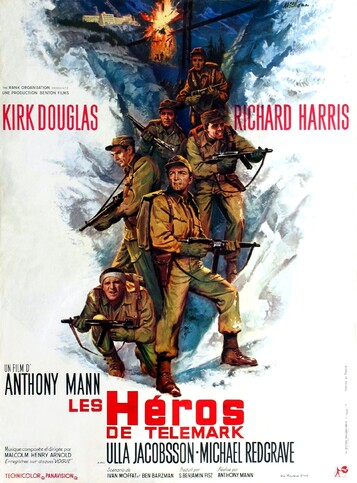 LES HEROS DE TELEMARK BOX OFFICE 1966