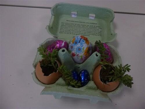 En GS : Une décoration pour Pâques