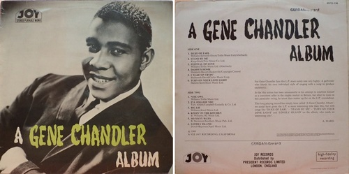 GENE CHANDLER - ALBUM JOY RECORDS 1969