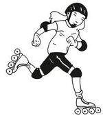 mercredi 15 juin 2016 : Jeux de glisse (rollers, skate), réalisation des bandanas souvenir...