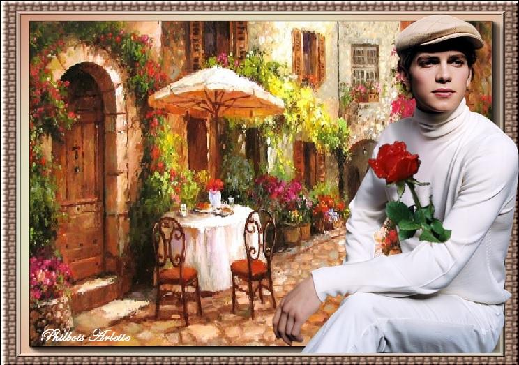 Défi chez Ghislaine...Le poète de la rue