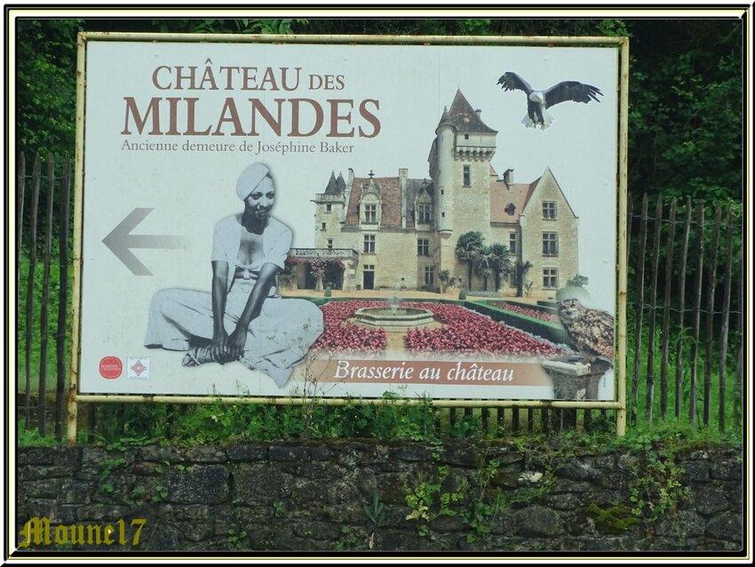 Le château des Milandes (Dodogne)