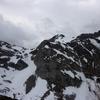 Du sommet du pic Lasnères (2000 m), les Escala, le Mardas et le Montagnon d'Iseye (photo de 2011)