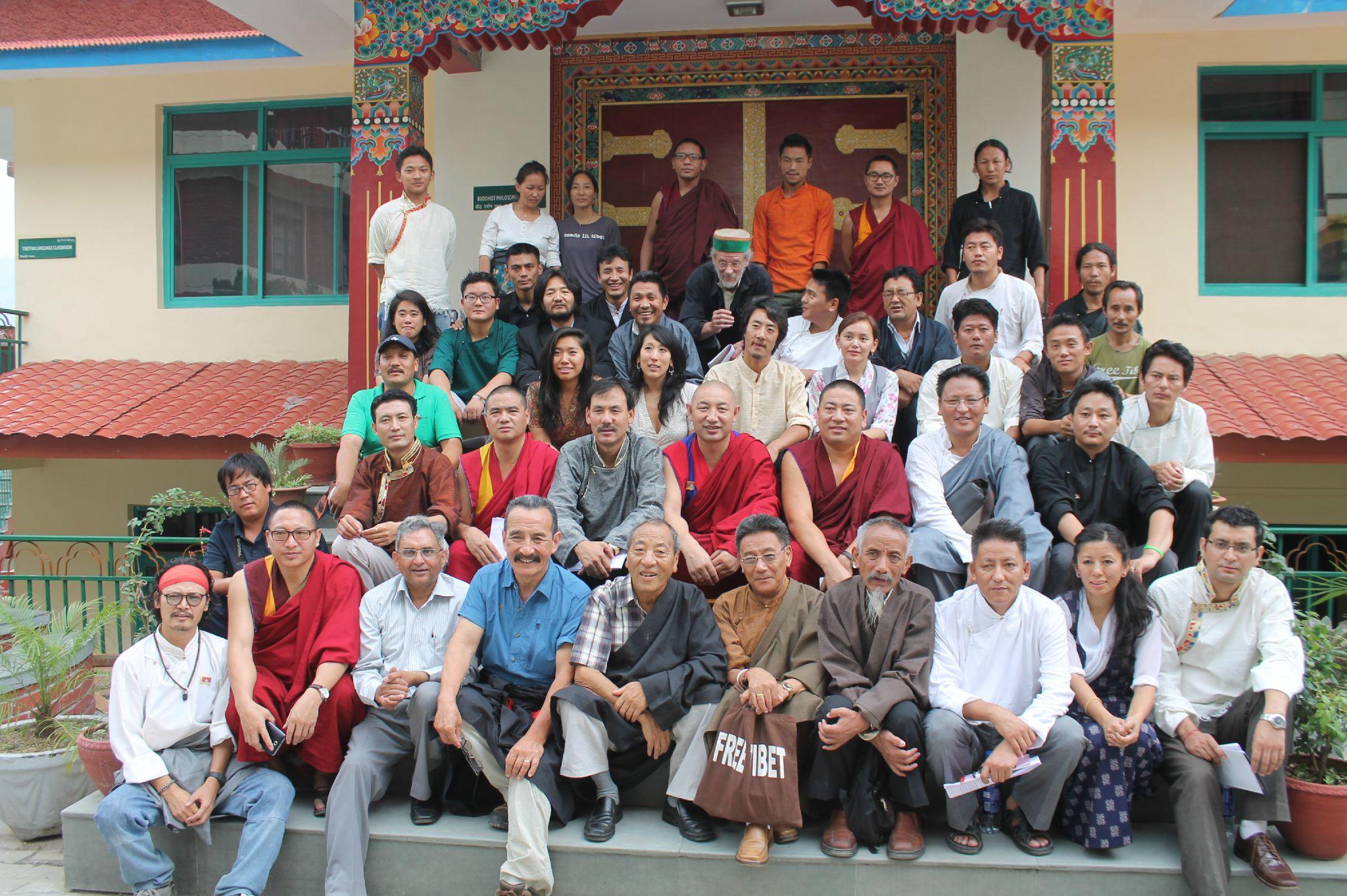 Rangzen meeting 2012 Dharamsala