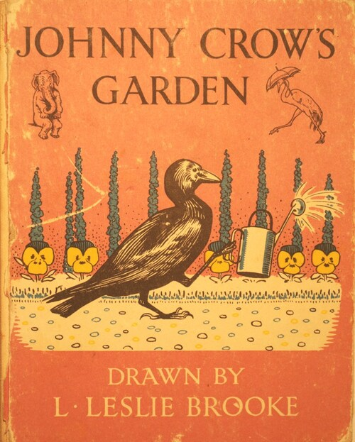 In Johnny Crow's garden