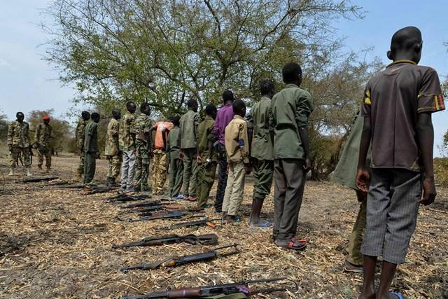 Soudan du Sud : des centaines d'enfants enlevés seraient sur le point d'être envoyés au front