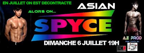 Prochain tea-dance au SPYCE : dimanche 06 juillet 2014